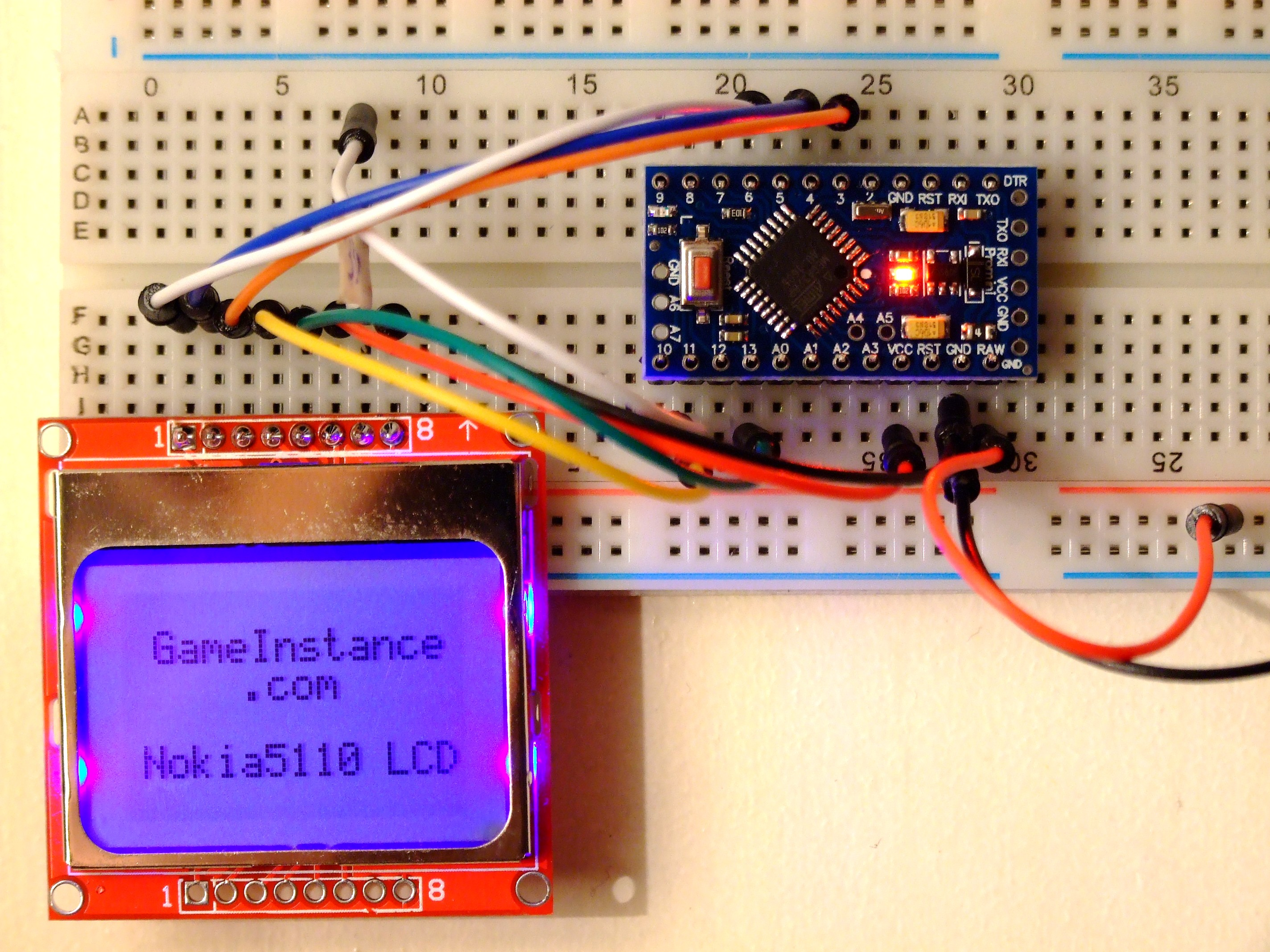 Gameinstance nokia lcd for arduino a graphic
